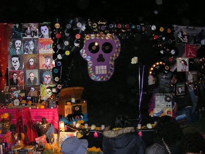 Altar to the vinyl record